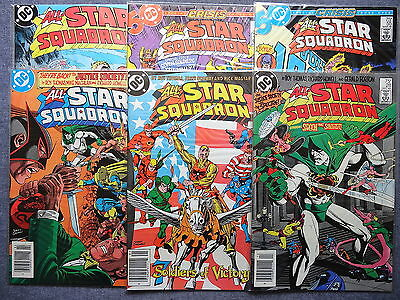 ALL-STAR SQUADRON #'s 28 29 30 55 56 65 | Justice Society of America