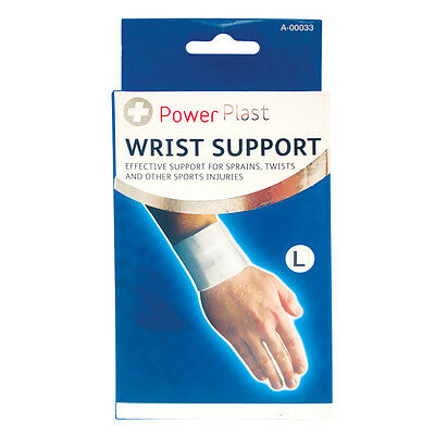 Elasticated Wrist Sport Support Bandage Effective Support 4 Sprains Twists - New