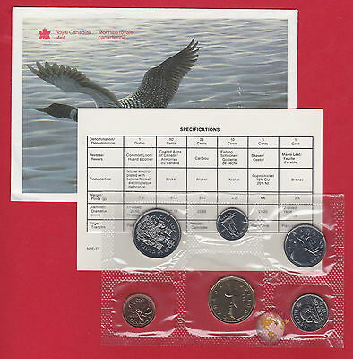 1989 - - Pl Set - - Canada RCM Proof Like Mint - With COA and Envelope