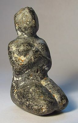 An Anatolian Stone Mother Goddess, Neolithic Period, 6th-5th Millennium B.C.