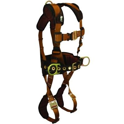 """Falltech Fall Protection Harness Comfortech w/Quick Connects Belt Size 29"""" to 41"""