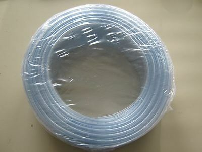 10 m PVC Tube d'aération cristal clair 9/12 mm, Aliments sans danger