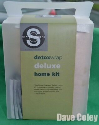 Shape Changers Deluxe Clay Body wrap Kit Lose inches Salon results at home NEW