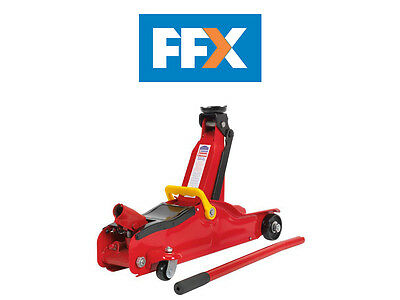 Sealey 1050CXLE Car Trolley Jack 2tonne Low Entry Short Chassis
