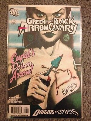 Green Arrow And Black Canary #17 First Appearance Of Cupid Cw Tv Show Villian Dc
