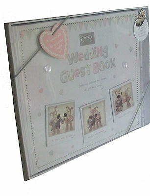 Boofle Wedding Guest Book & Pen Gift Set Brand New Boxed