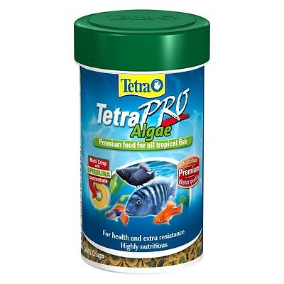TETRA TETRAPRO ALGAE PREMIUM TROPICAL FISH FOOD 45g/250ml 4004218143678