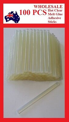 100PCS 7*100 mm Hot Clear Melt Glue Adhesive Sticks For Glue Gun Fast shipping