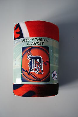 Detroit Tigers Fleece Throw Blanket