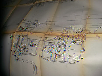 1980 Benelli S 50 -Engine - Blueprint -