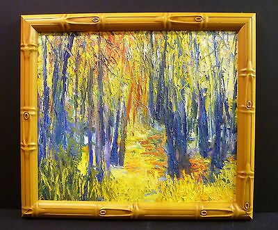 Fall Colors Forest Bold Texture Original 22x19 Frank Rimbach