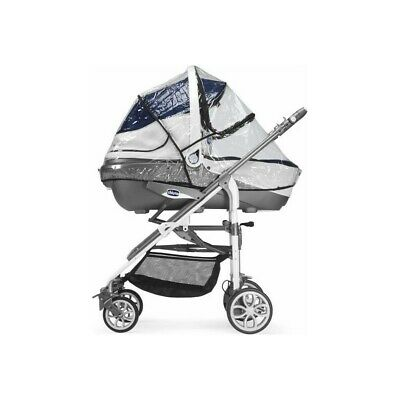 CHICCO Rain Cover For Trio (Pushchair Not Included)
