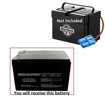 Kid Trax 12 Volt 12 AH Rechargeable Replacement Battery 12V 12Ah Exell Battery
