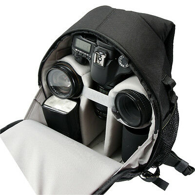 Vanguard Biin 50 - Digital Slr Camera Backpack Bag - Black With Grey