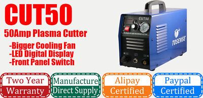 free shipping Plasma Cutter CUT 50 50A 110/220V with extra 100 pcs consumables