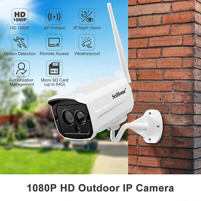 Sricam IP IR Camera Videocamera Wireless HD 720P Pan Tilt per Sicurezza Interno