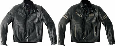 Spidi Sport Mens Ace Armored Leather Jacket