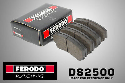 Ferodo DS2500 Racing For Mazda 121 1.25 i 16V Front Brake Pads (96-N/A ATE Solid