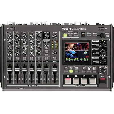 Roland VR-3EX SD/HD A/V Mixer with USB Streaming