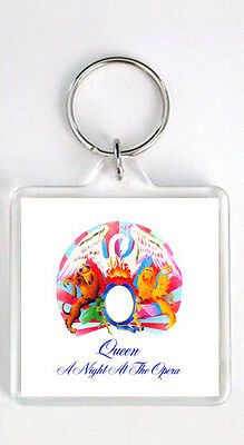 Queen - A Night At The Opera Lp Cover Keyring Llavero