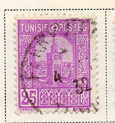 Tunisia 1928 Early Issue Fine Used 25c. 144793