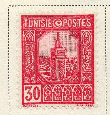 Tunisia 1941-45 Early Issue Fine Used 30c. 144851