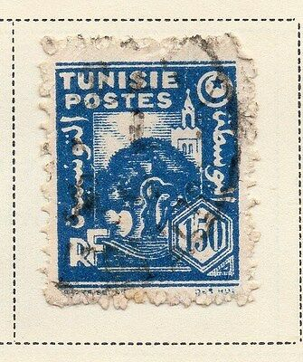 Tunisia 1943-45 Early Issue Fine Used 1F.50c. 144878