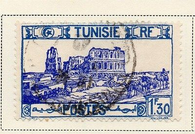 Tunisia 1942-46 Early Issue Fine Used 1F.30c. 144838