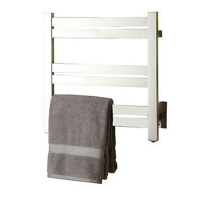 "Naiture 20"" Stainless Steel Hardwired Towel Warmer In 3 Product Finishes"