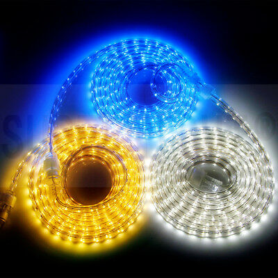 1M/3M/5M/10M 60LEDs/M 5050 SMD Flexible LED Light Strip IP67 Waterproof AC 110V