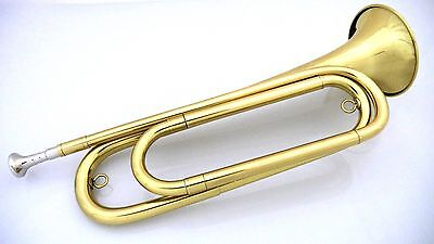 U.S. Regulation Bugle(tm) - Brass Lacquer with Mouthpiece
