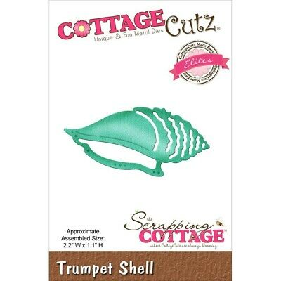 CottageCutz Elites Die   - CCE290 Trumpet Shell