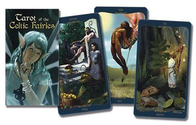 NEW Tarot of the Celtic Fairies Deck by Mark McElroy