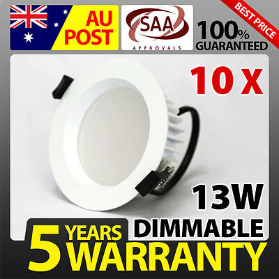 10 x 13W LED DOWNLIGHT LED DOWNLIGHT KIT DIMMABLE SAA!!!