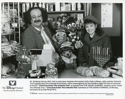 Holly Laroque Smiling Harvey Atkin Chanukah Under The Umbrella Tree Tv Photo