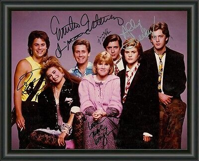 St. Elmo's Fire CAST ( Breakfast Sequel ) SIGNED  A4 PHOTO POSTER  FREE POST