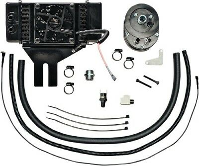 Jagg Oil Coolers Horizontal Low-Mount 10 Row Fan-Assisted Oil Cooler 751-FP2500