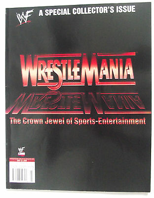 Wwf A Special Collectors Issue / Wrestlemania / 2000