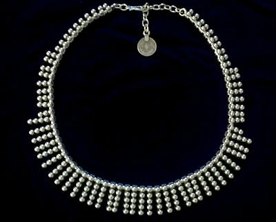 Turkish Ottoman Style Silver Plated Necklace A1028