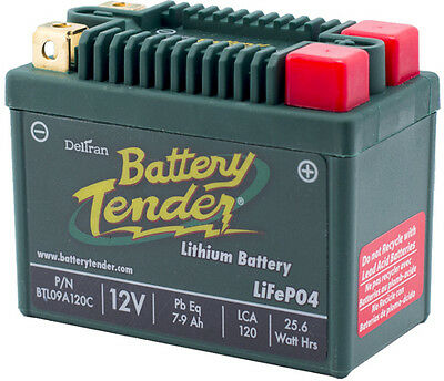 Battery Tender Lithium BTL09A120C 12 Volt 120 CCA Motorcycle Powersports Battery