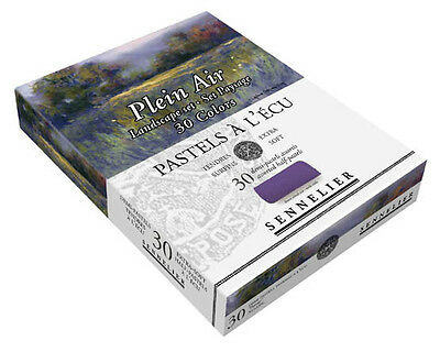Sennelier Soft Demi Pastel Box Set. Professional Artists Pastels - 30 Landscape