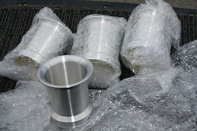 UNIVERSAL FIT BILLET ALUMINUM 54mm & 55mm Velocity Stack Machined Sold each