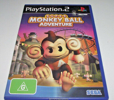 Super Monkey Ball Adventure PS2 PAL *Complete*