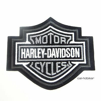 Harley Davidson Patch SILVER CLASSIC LOGO