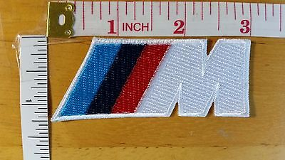 BMW M MPOWER M3 M5 Logo Embroidered iron on patch badge applique car automobile