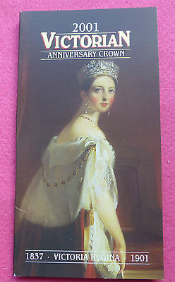 2001 Royal Mint Queen Victoria 100Th Anniversary  Five Pound £5 Bu  Coin Pack