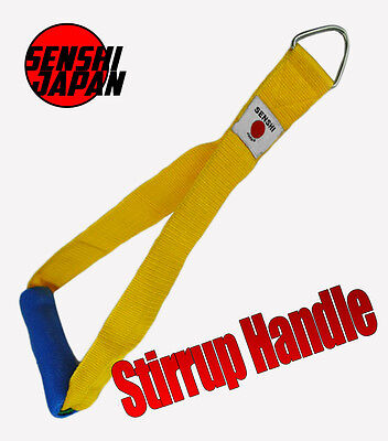 Stirrup Handle Pull Down Multi-Gym Cable Machine Attachment Weight -Light Weight