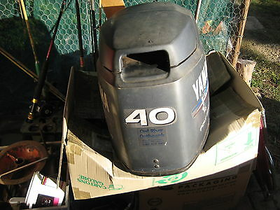 YAMAHA 40 HP OUTBOARD FOUR STROKE TOP COWL 67c-42610-30-4d 2002-2015 MANUAL STAR