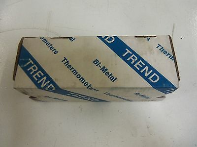"Trend Instruments 30 Bimetal Thermometer 3"" 20/240F *new In Box*"