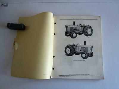 1960s John Deere 5010 Series Tractor Parts Catalog Manual PC-803 revised Mar 68
